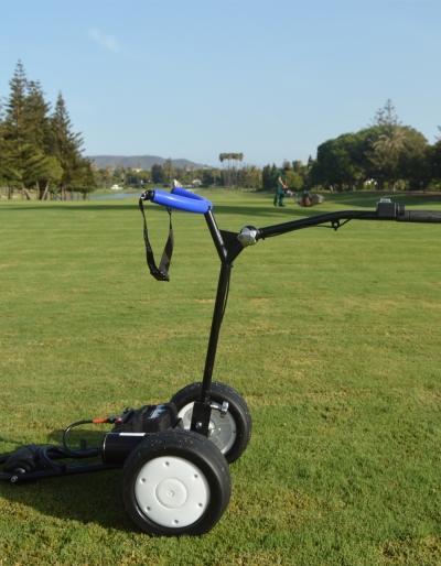 Carro golf plegable